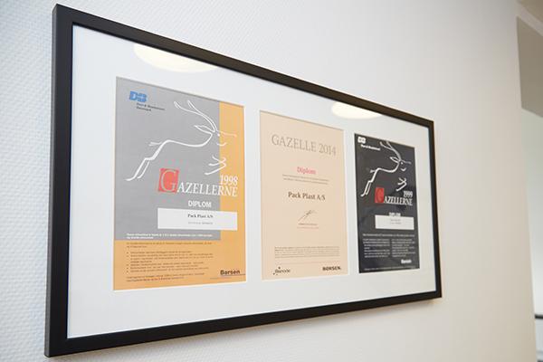 Pack Plast Gazelle virksomhed